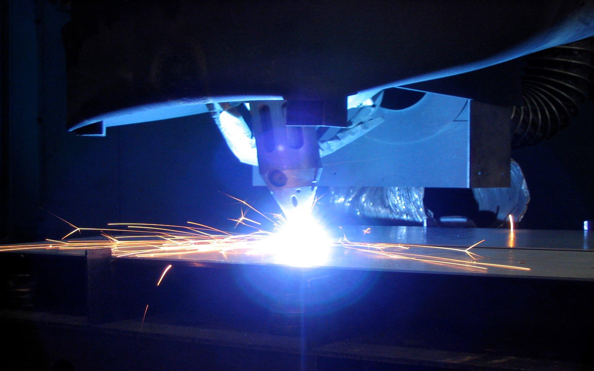 Cięcie blachy laserem, wycinanie laserowe - Warszawa, Pruszków